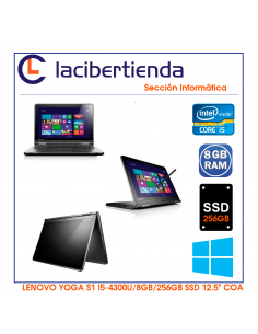 Ordenador Portátil ocasión HP EliteBook 9470M Folio 14P i5-3427U/4GB/320GB