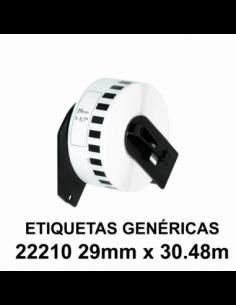 ETIQUETAS GENERICAS DK22210...