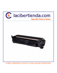 TONER COMPATIBLE CON HP...