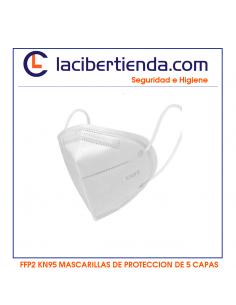 KN95 MASCARILLAS FFP2 5 CAPAS